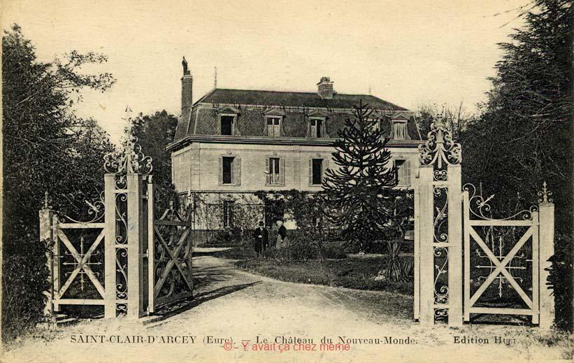 St-Clair-d'Arcey - Le château du Nouveau-Monde