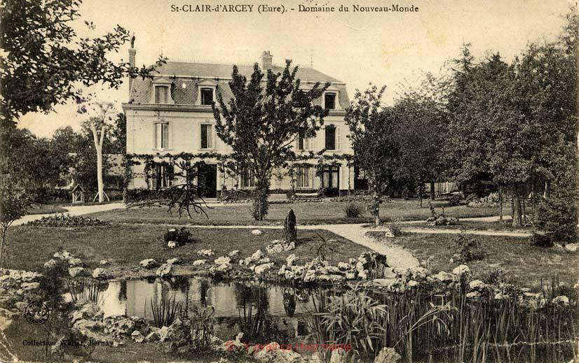 St-Clair-d'Arcey - Domaine du Nouveau-Monde
