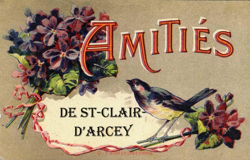 St-Clair-d'Arcey - Amitiés