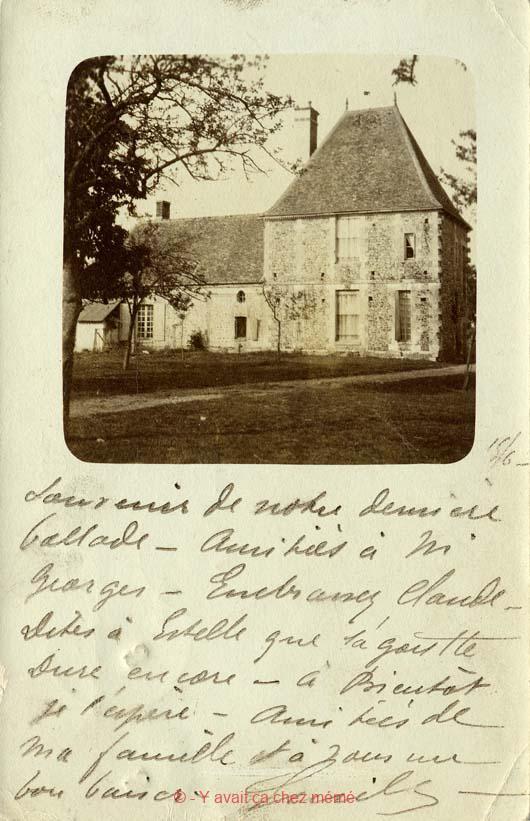 St-Clair-d'Arcey - Le Manoir