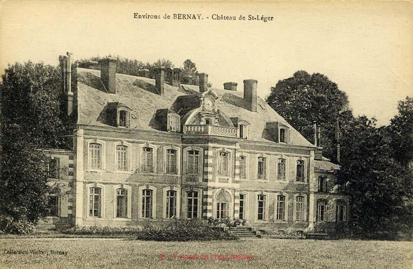 St-Léger-de-Rostes - Le château de St-Léger