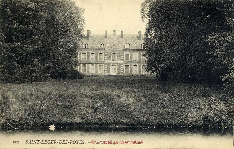 St-Léger-de-Rostes - Le château