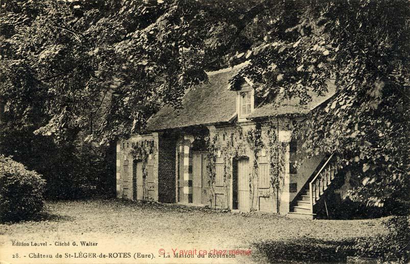 St-Léger-de-Rostes - La maison de Robinson