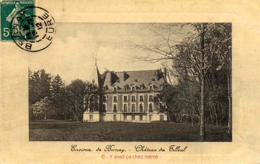 St-Martin-du-Tilleul - Château du Tilleul