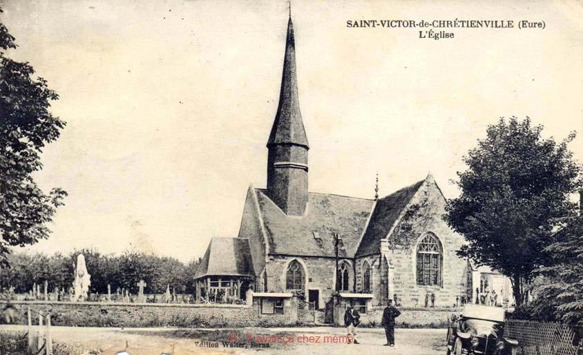 St-Victor-de-Chrétienville - L'église