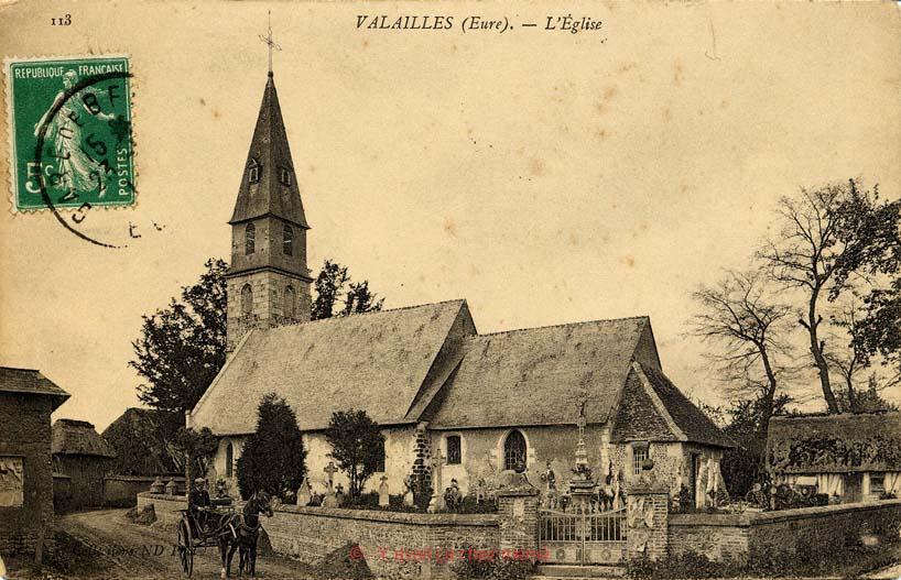 Valailles - L'église