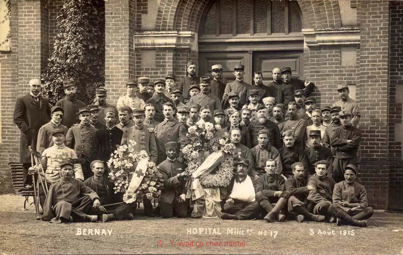 Bernay - Hôpital militaire (lycée St-Anselme)