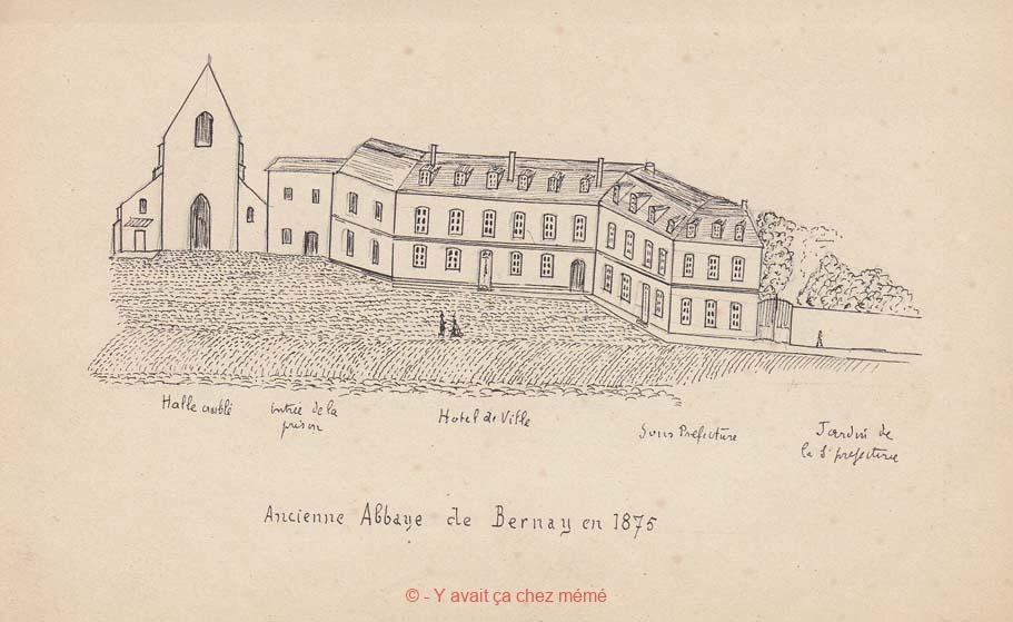 Bernay - Croquis d'une étude commencée en septembre 1897 (anonyme)