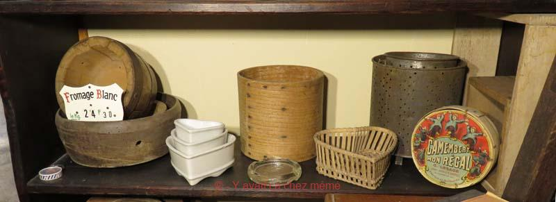 La laiterie - Moules à fromage