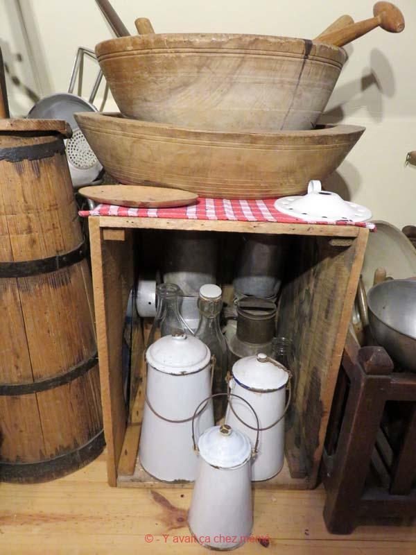 La laiterie - Pots à lait