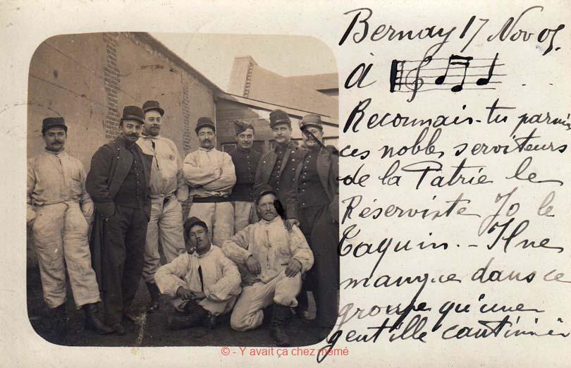 Bernay - Message à Mme SOL, la cantinière du 24ème RI