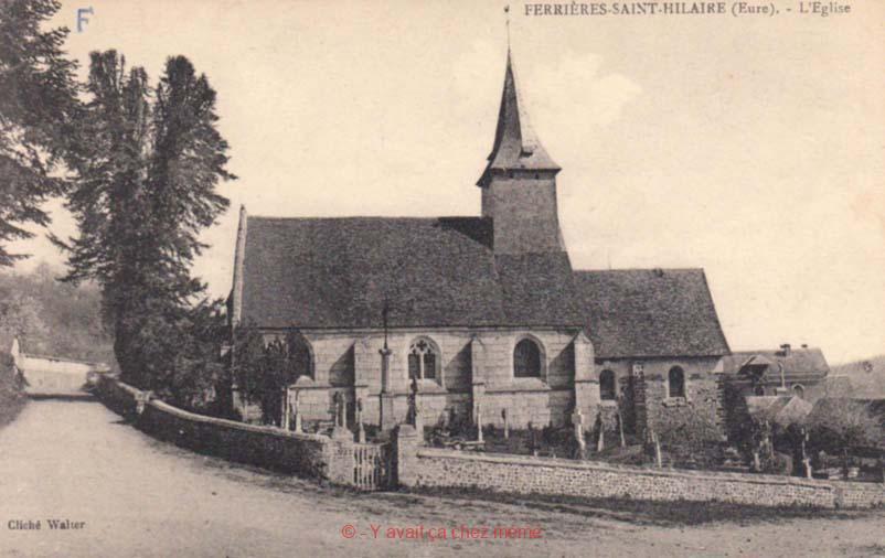 Ferrières-St-Hilaire - L'église