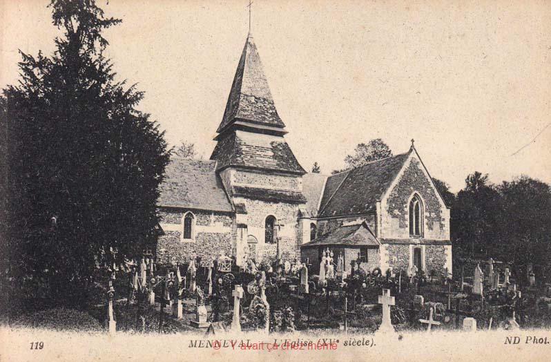 Menneval - L'église (XVème siècle)