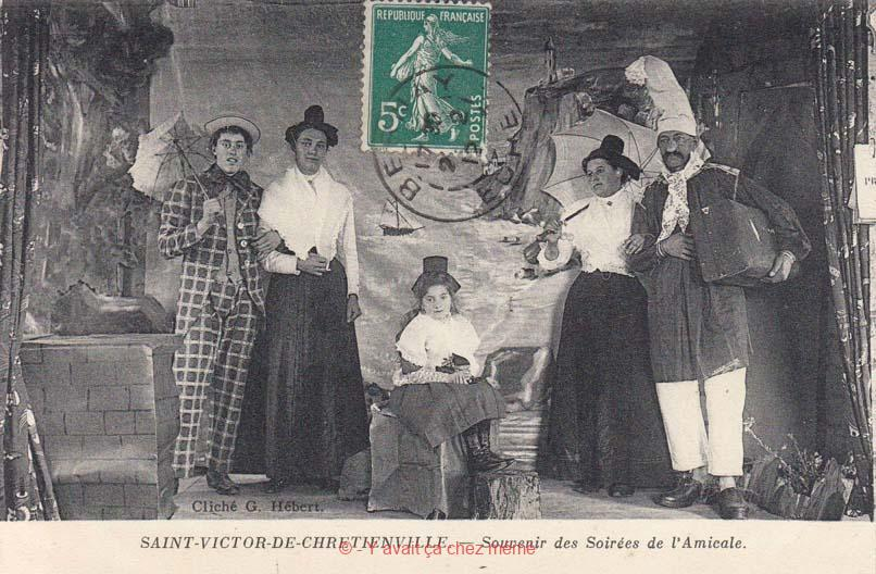 St-Victor-de-Chrétienville - Souvenir des soirées de l'Amicale