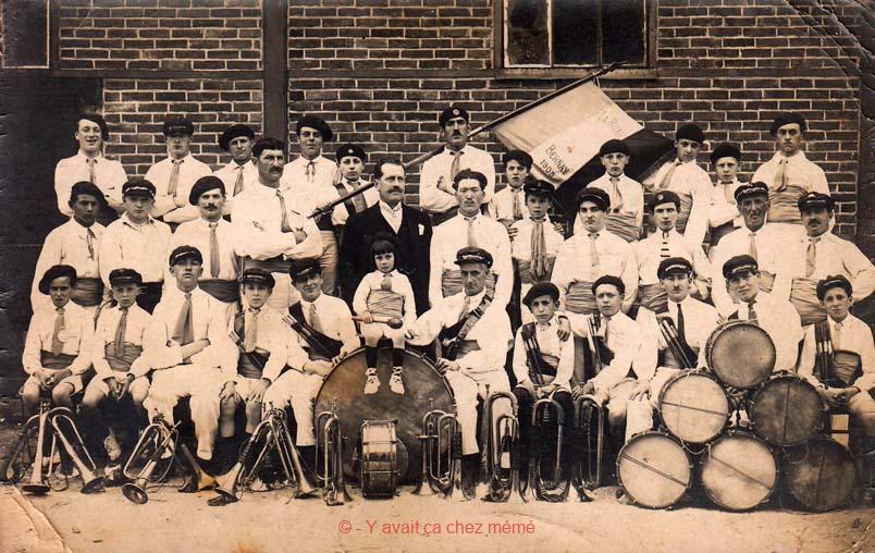 Bernay - La fanfare en 1905
