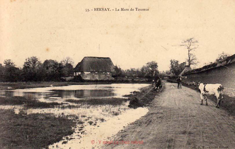 Menneval - La Mare de Toussue