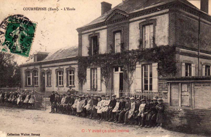 Courbépine - L'école