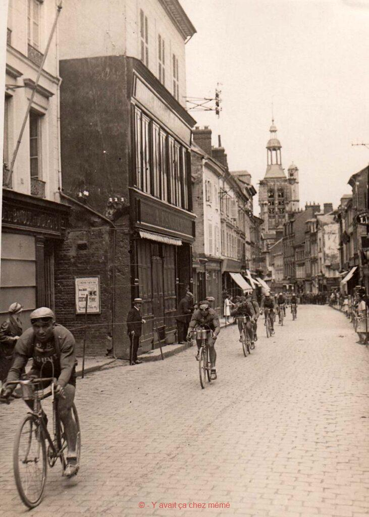 Bernay - Rue Thiers (39) - Tour de France 1928