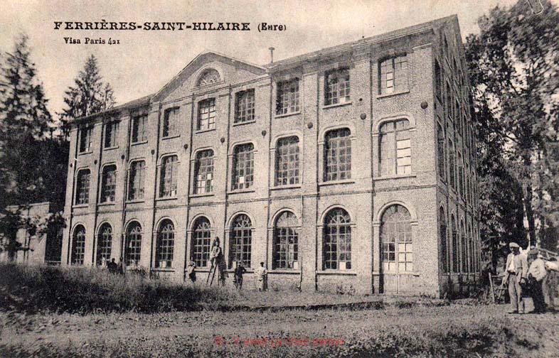Ferrières-St-Hilaire - La filature