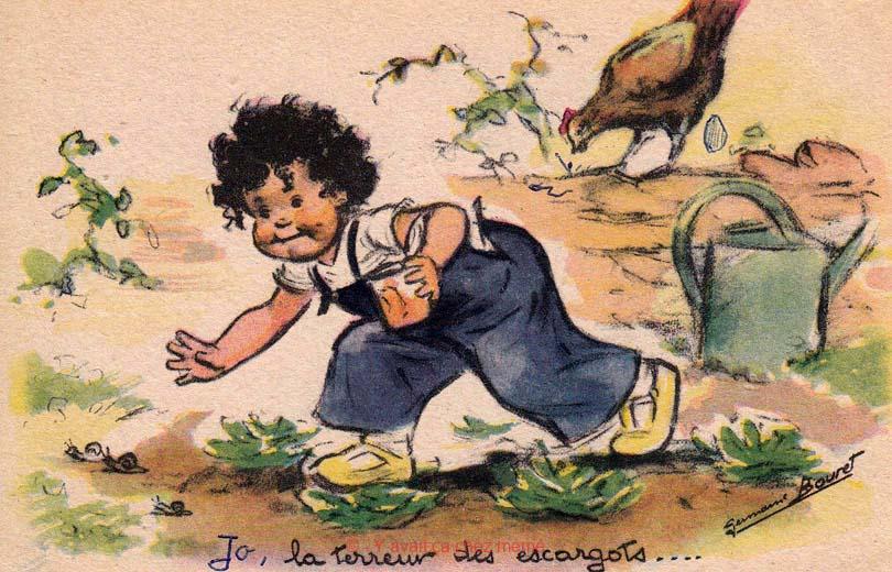 Jo, la terreur des escargots ....