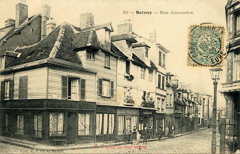 Bernay - Rue Alexandre (1)