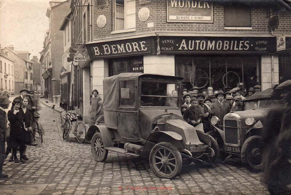 Bernay - Rue Michel-Hubert Descours (39)