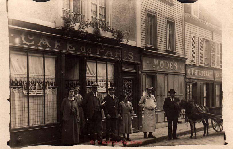 Bernay - Rue de l'Union (15) en 1924