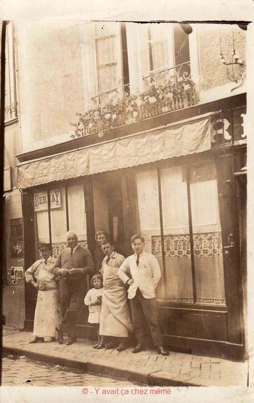 Bernay - Rue de l'Union (15) en 1928