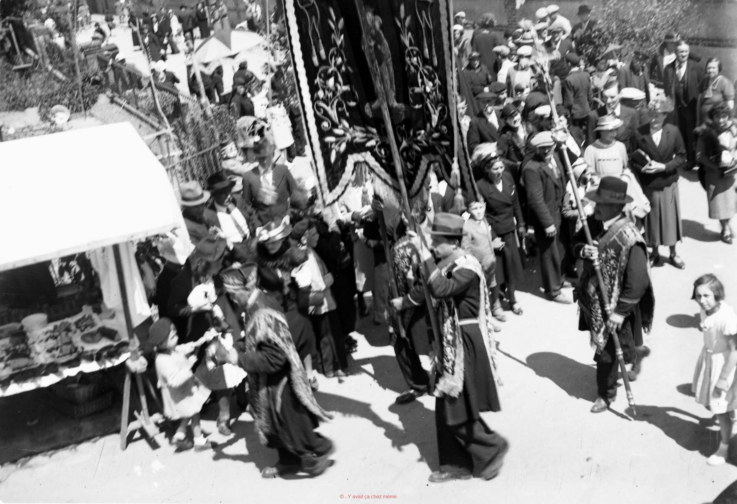 Procession du lundi de Pentecôte à la Couture