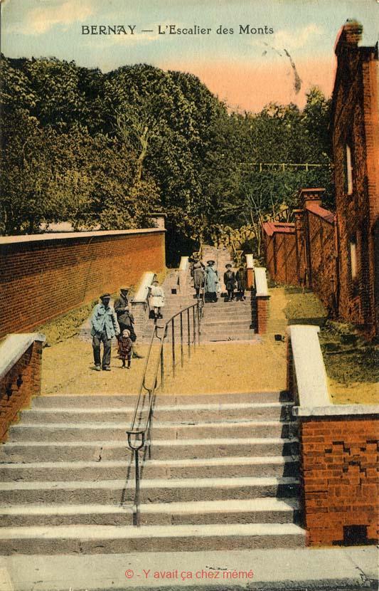 L'escalier des Monts