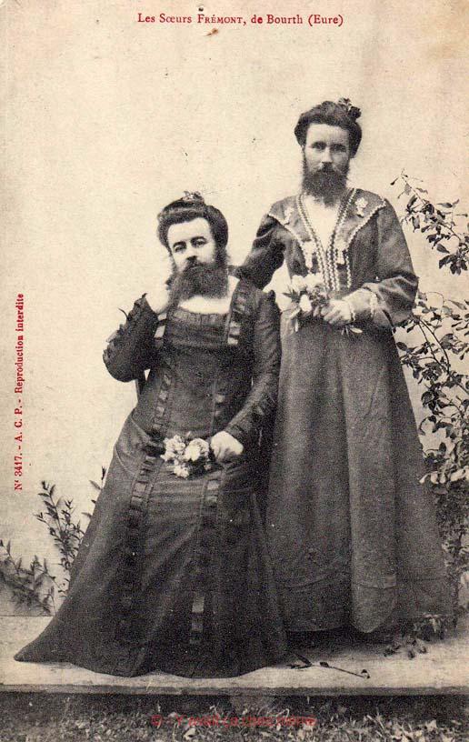 Les sœurs Frémont de Bourth (Eure)