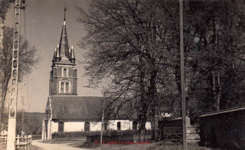 Fontaine-l'Abbé - L'église