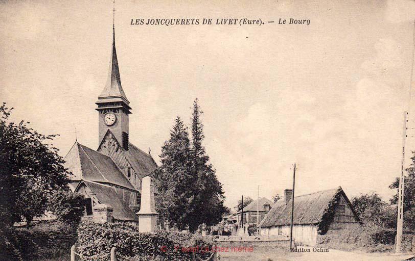 Jonquerets-de-Livet - Le bourg