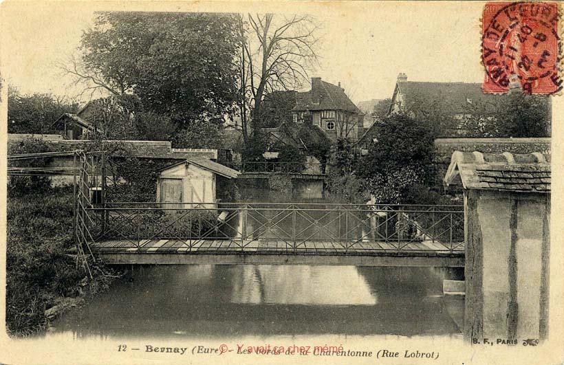 La Charentonne et Le Cosnier à droite ne font plus qu'un rue Lobrot