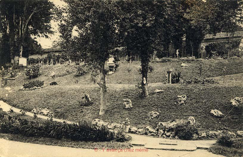 Le jardin de la clinique du Docteur Gombert