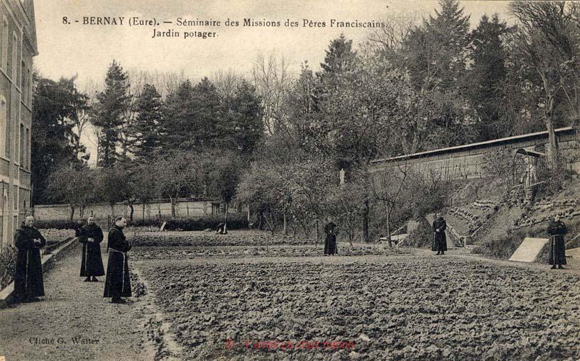 Le jardin potager du Grand Séminaire - Collège et Lycée Saint-Anselme