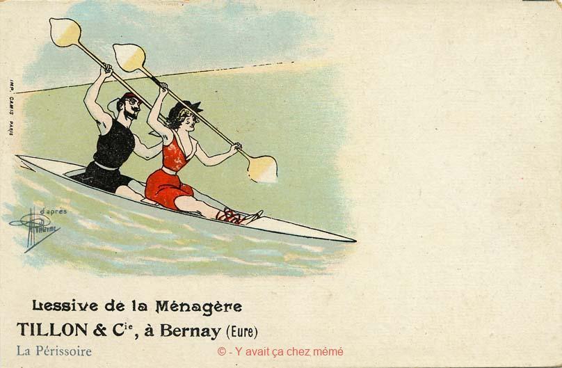 Lessive de la Ménagère - La Périssoire