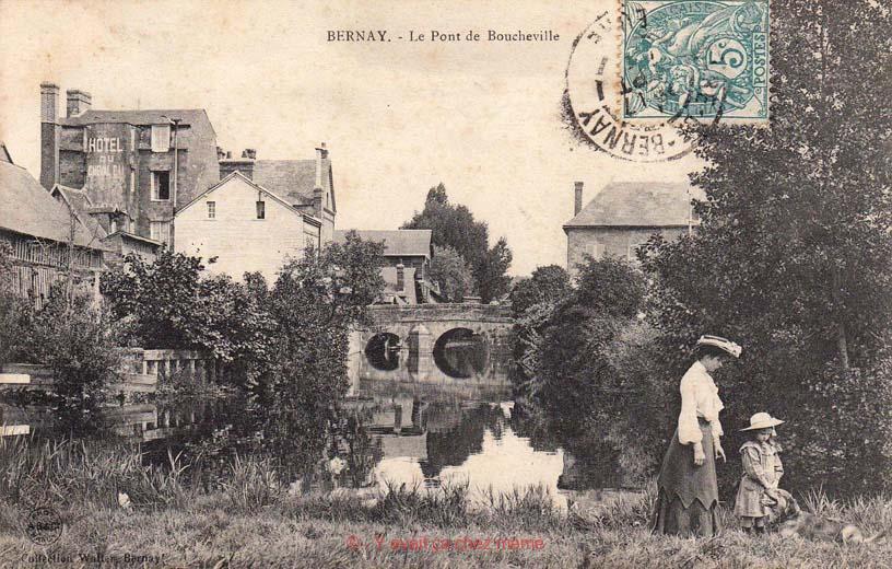 La Charentonne et le pont de Boucheville