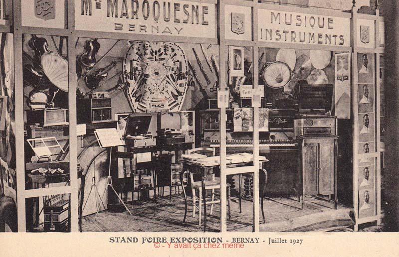 Musique et Instruments par Mme MAROQUESNE