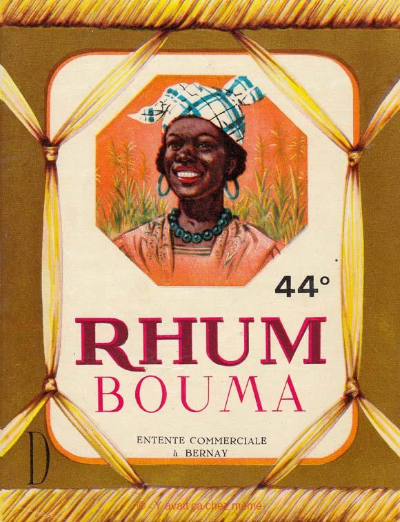 Rhum Bouma par l'Entente Commerciale