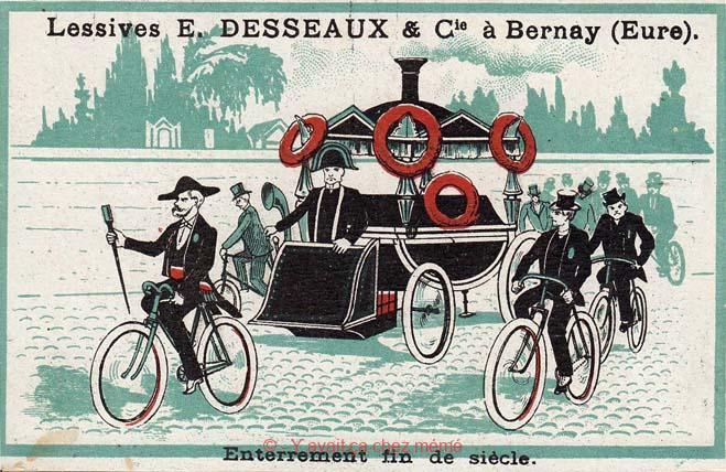 Lessives DESSEAUX - Enterrement fin de siècle