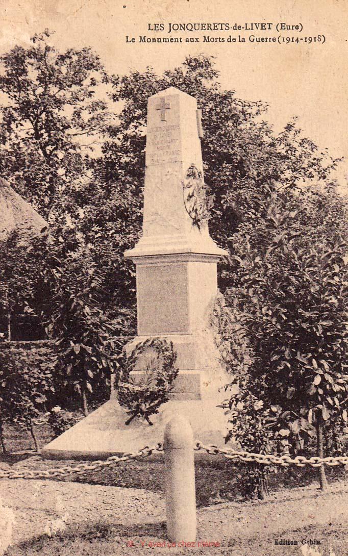 Le Monument aux Morts de la Guerre (1914-1918)