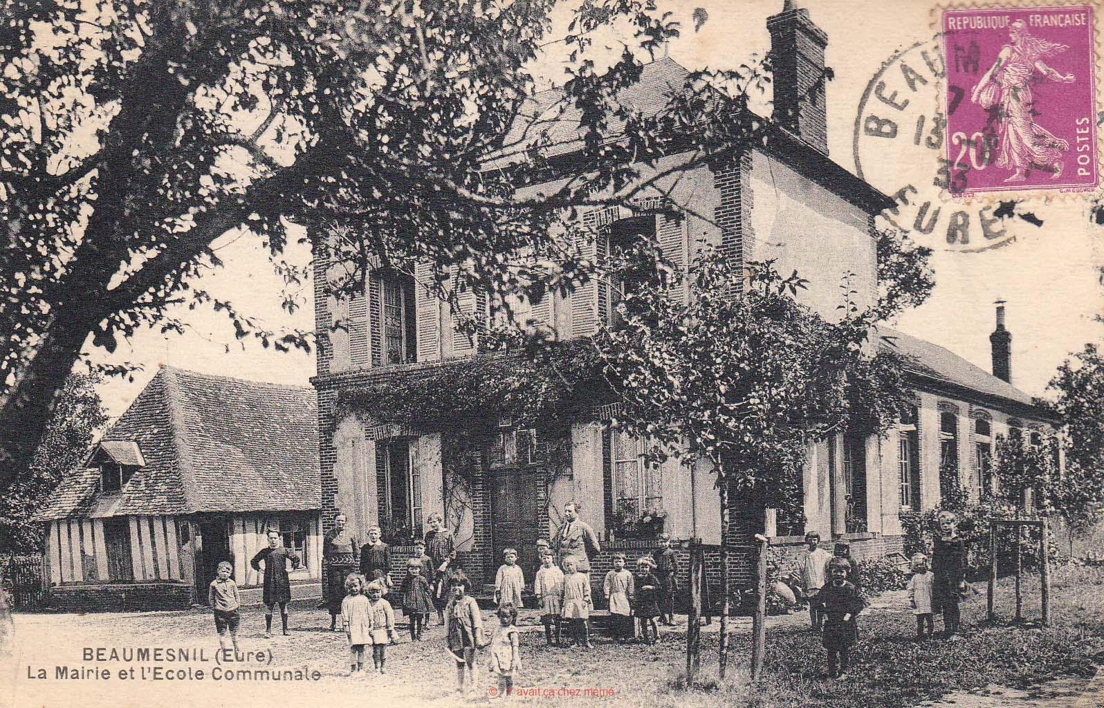 La Mairie et l'École Communale
