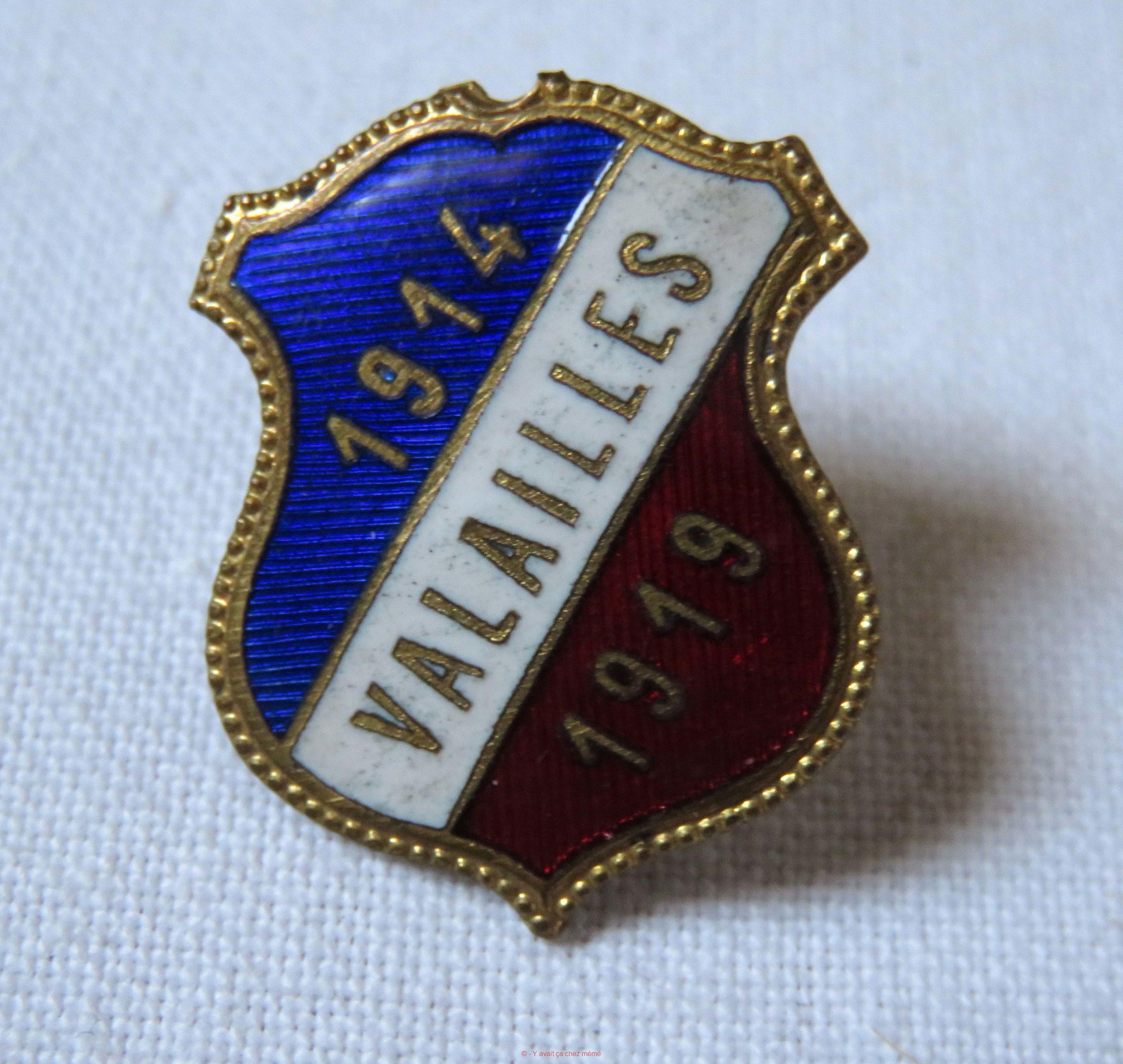 Insigne des anciens combattants de VALAILLES