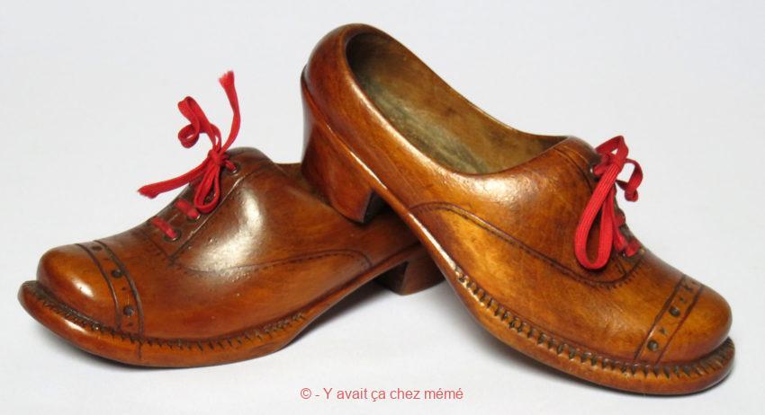 Chaussures bois enfant
